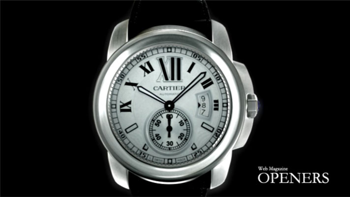 Cartier watch rendering for Web Magazine Openers