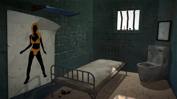 Prison cell environment