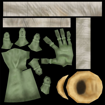 Desert Dash Sandy Hand Enemy Texture