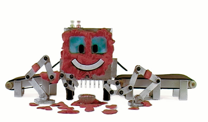 Otto-Matik stop motion animation robot model